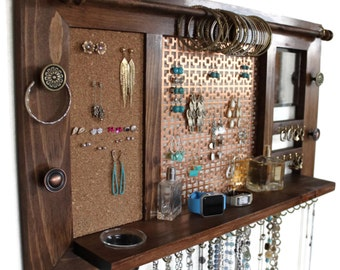 Wall Hanging Jewelry Organizer Jewelry Display Jewelry