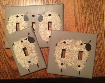 Sheep Switch Plate Covers
