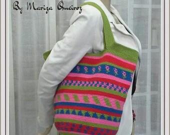 Crochet Étinic Bag