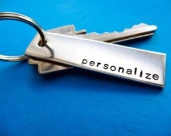 Personalized Keychain - Custom Keychain - Gift for Men, Women - Anniversary, Wedding Gift