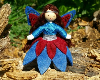 Fairy Doll - Fairies - Flower Fairy - Fairy Dolls - Miniature Fairy - Fairy Princess - Butterfly Wings - Fairy Garden