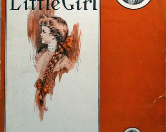Daddy's Little Girl antique sheet music 1905 by Edward Madden & Theodore Morse Large Format RARE