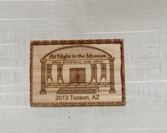 """Dollhouse Miniature Wooden Tray. 1"""" Scale. (M)"""