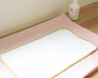 Rose Gold Polka Dot Fabric Dresser Baskets - ON ORDER -
