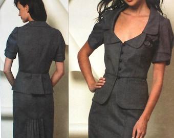 UNCUT Rebecca Taylor Skirt Suit Bust 30.5 - 34
