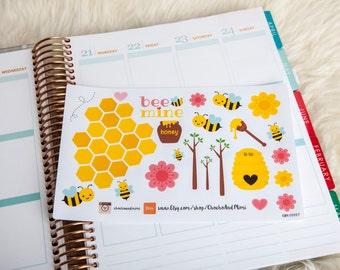 BEE Mine Decorative Planner Stickers CAM00007