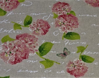 Gorgeous fabric rose pattern decoration and writing