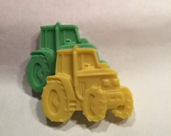 24 qty - TRACTOR Soap Favors; Tractor, Builder, Equipment, Farm, Cars