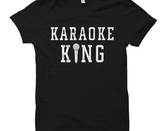 Karaoke Gift Karaoke Shirt Singer Gift Singer Shirt Lyrics Shirt Karaoke Fan Gift Music Gift Music Shirt Karaoke King Shirt