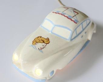 Antique Night Light - Nursery Lamp - Car Lamp