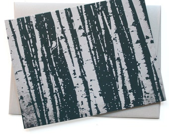 Birch Tree Forest - Card set of 8