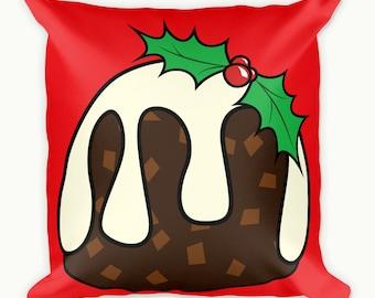 Christmas Cushion Cover, Christmas Throw Pillows, Square Pillow case, Festive Cushion Cover