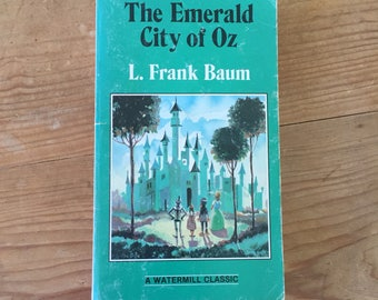 The Emerald City of Oz by L. Frank Baum Vintage Book