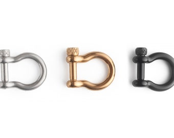 Stainless Steel Shackle For A Bracelet
