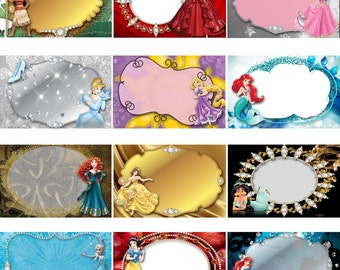 Disney Princess Digital 5x7 Autograph Book