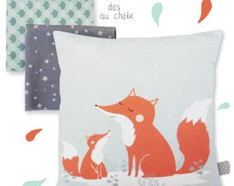 Cushion Fox - Child's room Decoration