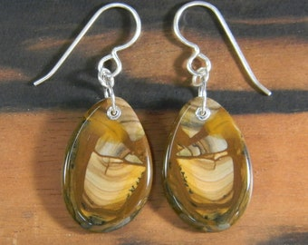 Royal Sahara Jasper Earrings