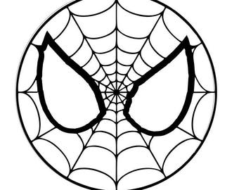 Digi-tizers Spiderman ornament cut file