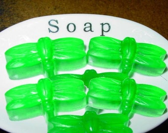Dragonfly Soaps For Guests or Gifts,Party Favors,Shower Favors,Glycerin,Detergent Free