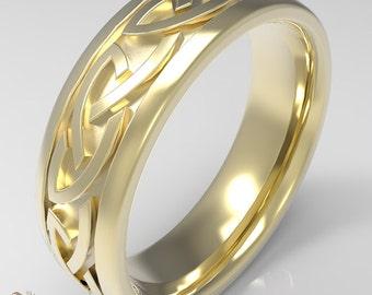 Anello di nozze celtico