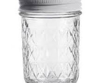Quilted Jelly Jar