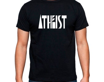 Atheist T Shirt for Women Men Atheism Is a Non Profit Organization Funny Tshirt for Atheist Agnostic