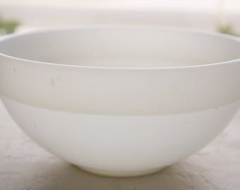 Milk Glass Mixing Bowl, Fire King