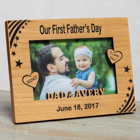 Father\'s Day Picture Frame Happy Father\'s Day