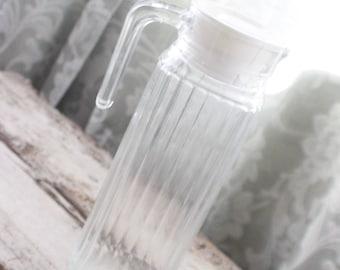 Kühlschrank Krug : Saft krug glas milchkännchen saft karaffe anchor hocking
