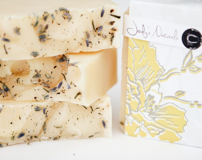 Featured listing image: Lavender Lemongrass Soap, Cold Process Soap,Vegan, Hand crafted, Victoria BC, Vancouver Island