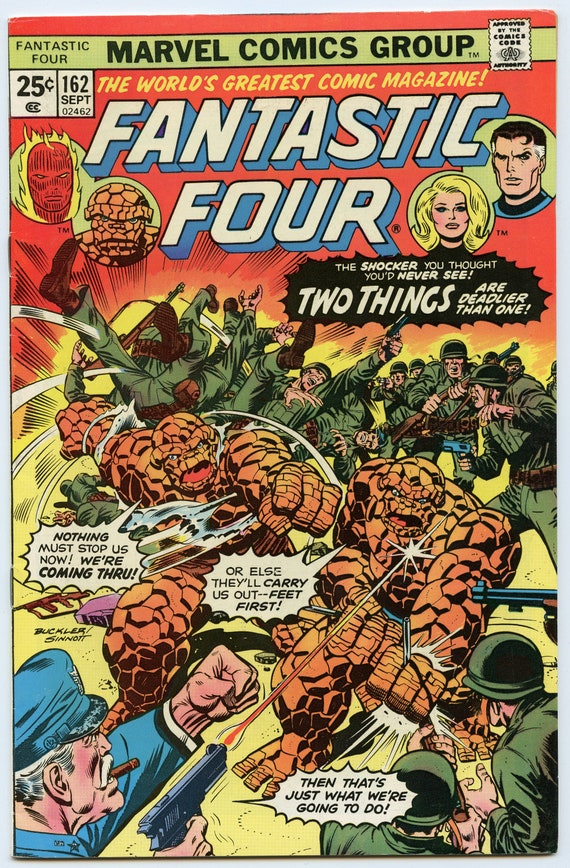 Fantastic Four 162 Sep 1975 VF- (7.5)