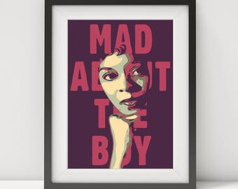 dinah washington, dinah washington poster, dinah washington print-art, music poster, jazz singer, jazz-blues poster, quote poster, prints