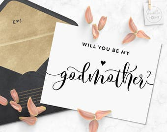 Printable will you be my godmother card printable pdf files will you be my godmother card printable baptism card christening baby will you be my godmother printable godmother card asking godparents m4hsunfo