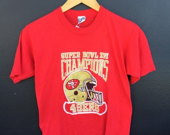 San Francisco Forty Niners 49ers 1982 Vintage Tshirt