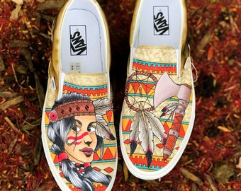 Custom Native Vans Slip-On