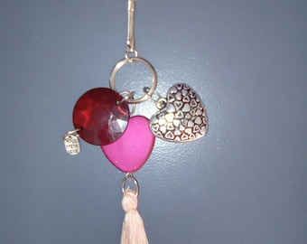 Keyring or bag charm