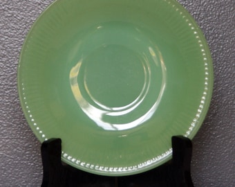 Vintage Fire King Jadeite Jane Ray Replacement Saucer