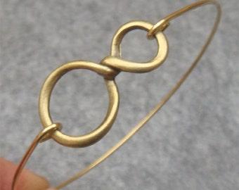 Infinity Bangle Bracelet Style 3