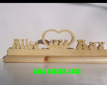Year Heart, wedding decorations, rustic wedding, bridal table, cake table