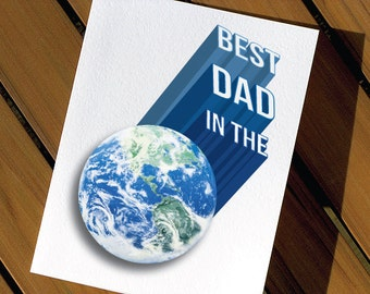 Cute Birthday Card For Dad Best Dad In The World