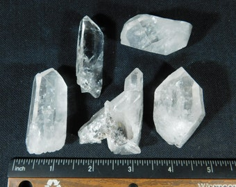 A LOT of Super Nice and Natural TIBETAN Quartz Crystals Found in Tibet! 190gr