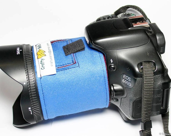 Camera Lens Warmer with Window, Photography Accessories, Protect from lens condensation, Long exposure photography, DSLR, SLR, Canon, Nikon