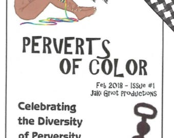 Perverts of Color Zine (POC Zine Issue 1)
