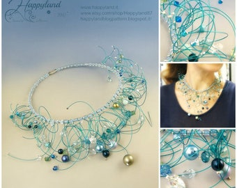 Entropy , freeform necklace kit