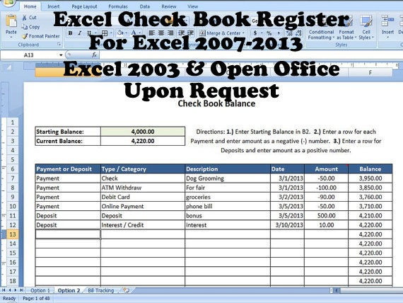 Balancing a checkbook lesson: find more tips on how to use a check ...