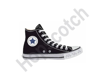 converse embroidery pattern