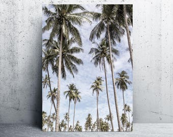 Palm trees print, beach, wanderlust art, printable art, printable, art print, printable wall art, digital prints, downloadable, prints