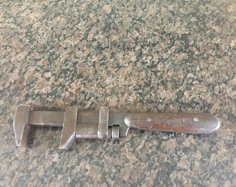 """Vintage """"Clue"""" Monkey Wrench"""