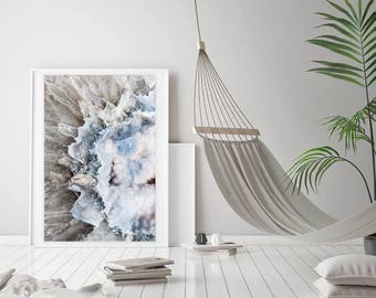 Mineral Photography - (Print # 061A)    -  Fine Art Print - Two Paper Choices- Mineral Geode Agate Crystal Decor