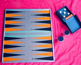 Vintage Ringo or Robin Backgammon Set 1974